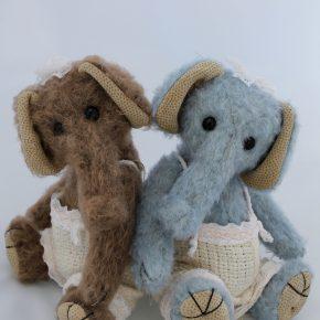 Elefantenpärchen