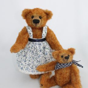 Bärenmama mit Kind