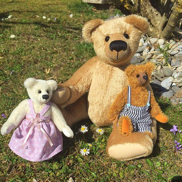 Benjamin mit Trixi & Fred